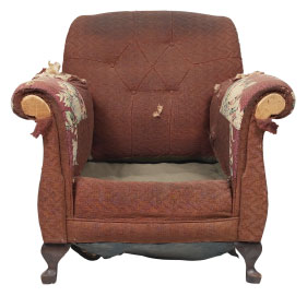 Furniture Medic of Fredericton Upholstery and Leather Furniture Repairs and Restoration Before